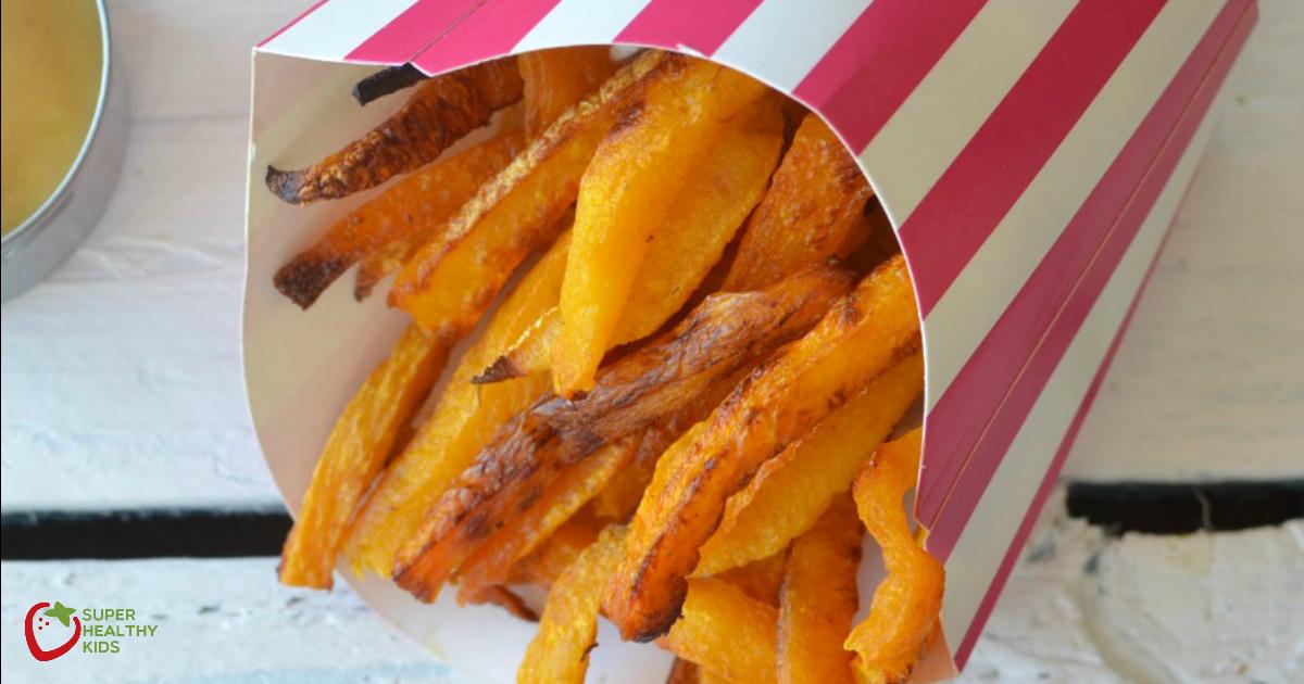 Receta de papas fritas dulces y saladas
