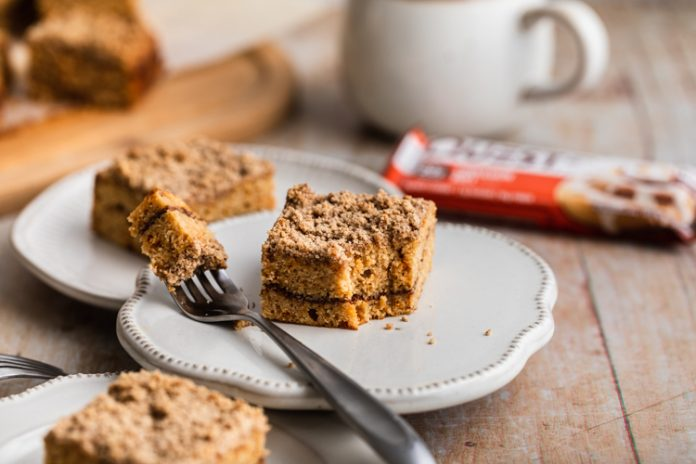 A Cut Above the Rest — You'll Love Our Cinnamon Roll Coffee Cake