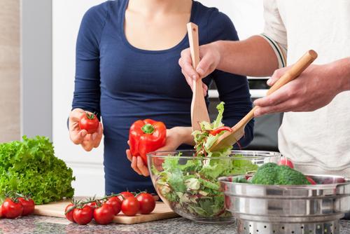 Siga esta dieta durante la remisión.