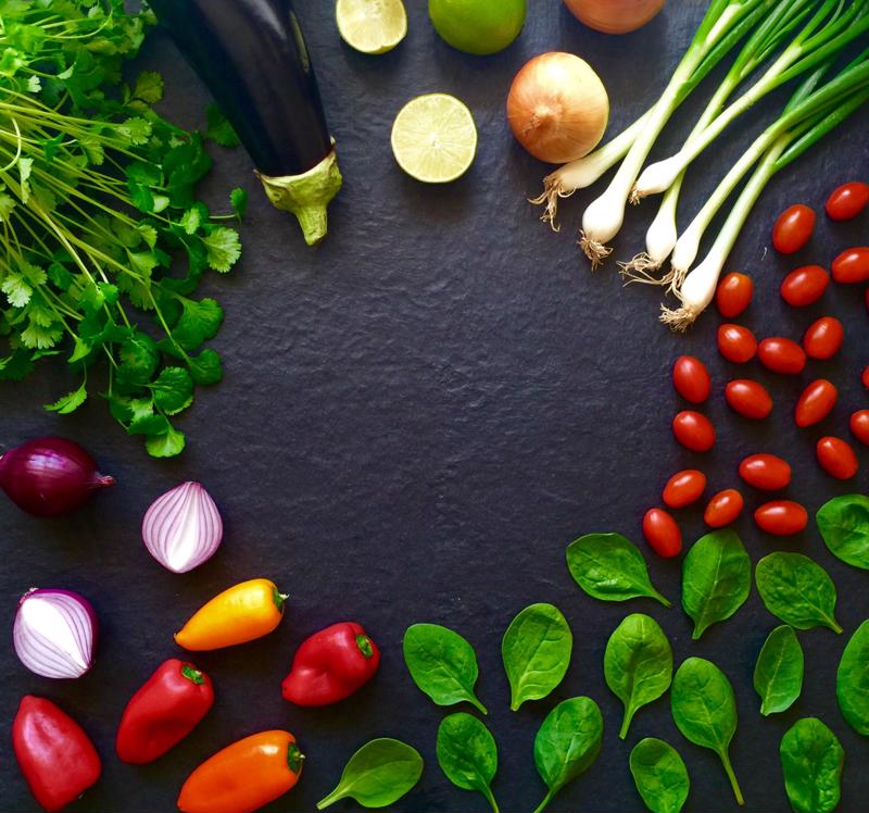 Las verduras frescas son clave en una dieta de remisión.